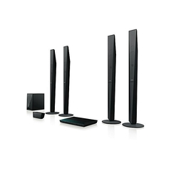 Sony BDV - E6100 Blu-ray Home Cinema System with Bluetooth black