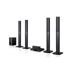LG LHD657 - DVD HOMETHEATRE SYSTEM, 5.1CH, USB,Bluetooth black