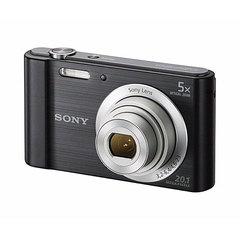 Sony DSC-W800 Shot Compact Camera 20.1 MP -5X Optical Black Medium