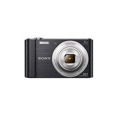 Sony Cybershot DSC-W810 Camera 20.1 MP black medium