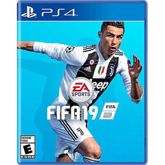 Playstation PS4 Game FIFA 19 black normal