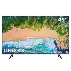"Samsung  Smart TV NU7100 49"" UHD 4K 3480x2160p LED TV black 49 inch"