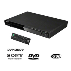 Sony DVP-SR370 DVD Player with USB Connectivity 110–240 V, 50/60 Hz