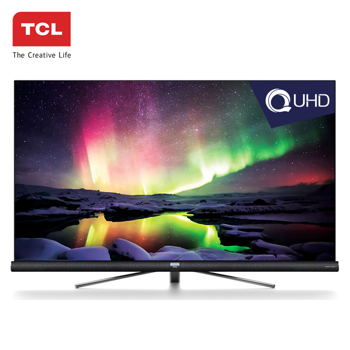 "TCL 55C6US - 55"" Android UHD 4K Smart LED TV with Harman Kardon black 55 inch"