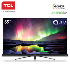 TCL 65C6US 4K QUHD Smart Android TV With Harman Kardon Audio black 65 inch