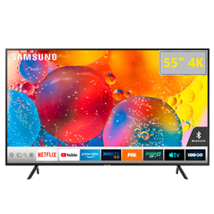 Samsung 55 Inch Flat Smart 4K UHD TV -55RU7100 - Series 7 black 55 inch