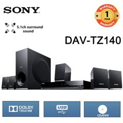 (Anniversary promotion)Sony TZ140 - 300W - 5.1Ch - DVD Home Theater Black