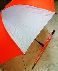 Standard Umbrella White & Orange 98*72