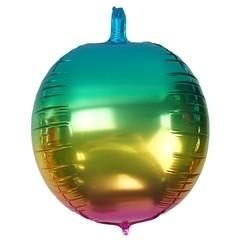 Hot sale 22 inch 4D Round balloon balloon ball custom logo Foil Balloons gradient 22 inch