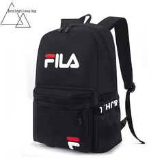 HYBrand 15.5-Inch Mens Bags Business Laptop Canvas Backpack Waterproof Large Capacity black-5 15.5