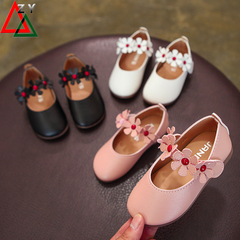 Fashion Children Ballet Shoes for Girls Kids Casual Sneakers PU Leather Baby Princess Dancing Shoes pink 21