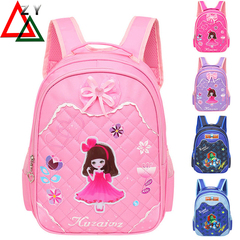 Kids Bags Fashion Children Backpacks for Student primary school boys girls satchel schoolbag rose red