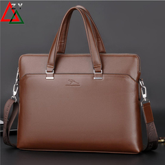 ZHIZUNDAISHU Brand Commuter Bag men handbags classic men's travel bags messenger bag Briefcase brown one size
