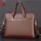 ZHIZUNDAISHU Brand Commuter Bag men handbags classic men's travel bags messenger bag Briefcase brown one size