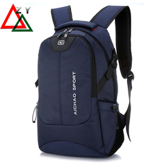 Fashion Men Daily  Backpacks for Laptop Large Capacity Computer Bag Casual School Bagpacks  handbags blue one size