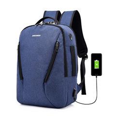 16.5inch Bags Business Laptop Backpack,Travel handbags men Commuter Bag Briefcase blue one size