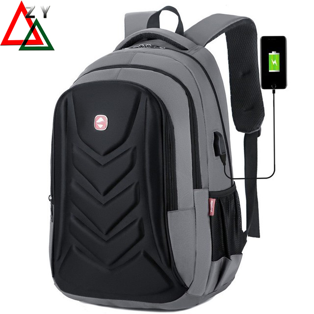 17-Inch Bags Business Laptops Backpack,Waterproof USB Charging Port Commuter Bag Travelling bag gray 17 inch