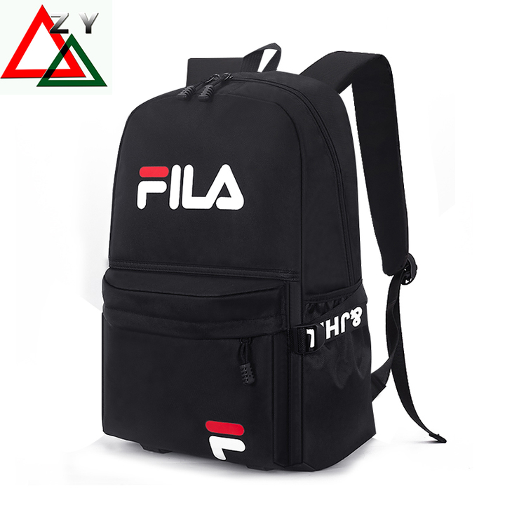 HYBrand 15.5-Inch Mens Bags Business Laptop Canvas Backpack Waterproof Large Capacity black-1 15.5