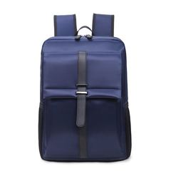 14.5Inch Business Laptop Backpack, waterproof handbags for men women Couple bags Commuter Bag blue 14.5 inch