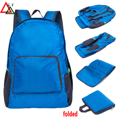 Bags Folding Portable Backpack Suitable for Home Storage and Outdoor Travel nylon bags green one size