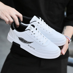 Fashion sneakers men shoes casual  men shoe Sports Running Breathable shock resist shoes Board Shoes white 39