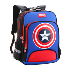 Kids Bags Kindergarten Fashion Children Backpacks Student primary school boys girls schoolbag Blue