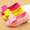 Fashion Children Ballet Suede Shoes for Girls Kids shoes Casual Sneakers Baby Princess Dancing Shoes pink 21