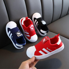 Fashion Athletic Shoes boys shoes breathable sports shoes girls kids shoes casual sneakers red 21