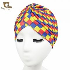 Fashion Luxurious ladies Headscarf Hat Sleeping Bonnet Hair Wrap Cap Dazzling Head Scarf Headwear blocks