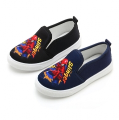 Spider-Man Boys Girls Loafers canvas shoe Casual shoes anti-skidding Fashion sneakers shoes blue 31
