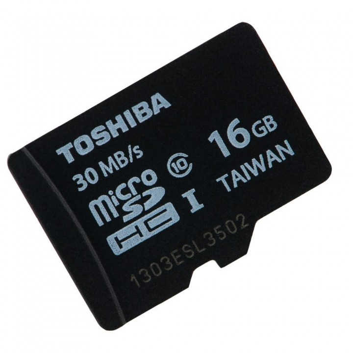 Toshiba memorycard-16gb
