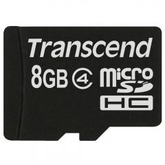 Transcend memory card-8gb