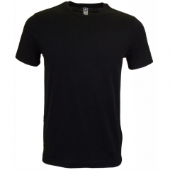 Plain tshirt black-M