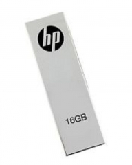 HP 16 GB - Flash Disk with clip - Silver great