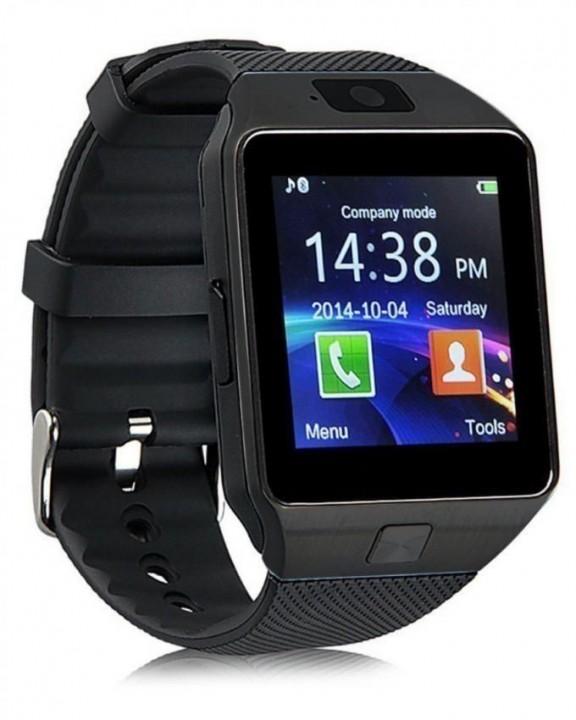Generic DZ09 - 1.56 Smart Watch - 128MB ROM - 64MB RAM - 0.3MP Camera - Black great