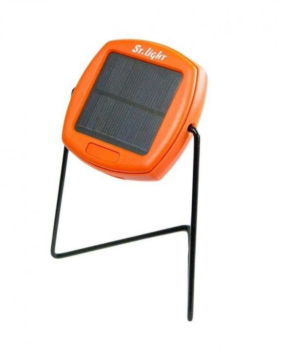 Generic Solar Light - Free Light - Orange great