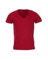 Generic V - Neck Tshirts - Red red m