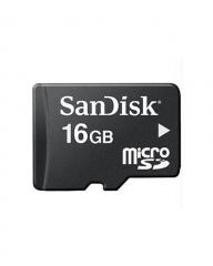 Sandisk Memory Card - Micro SD - 16GB - Black (without class) great