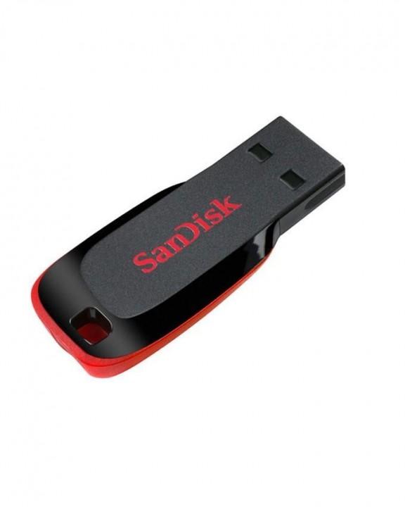 Sandisk 8 GB - Flash Disk - Red great