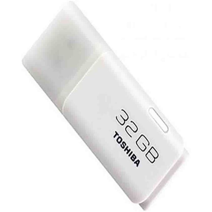 Toshiba Flash Disk - 32GB - White great