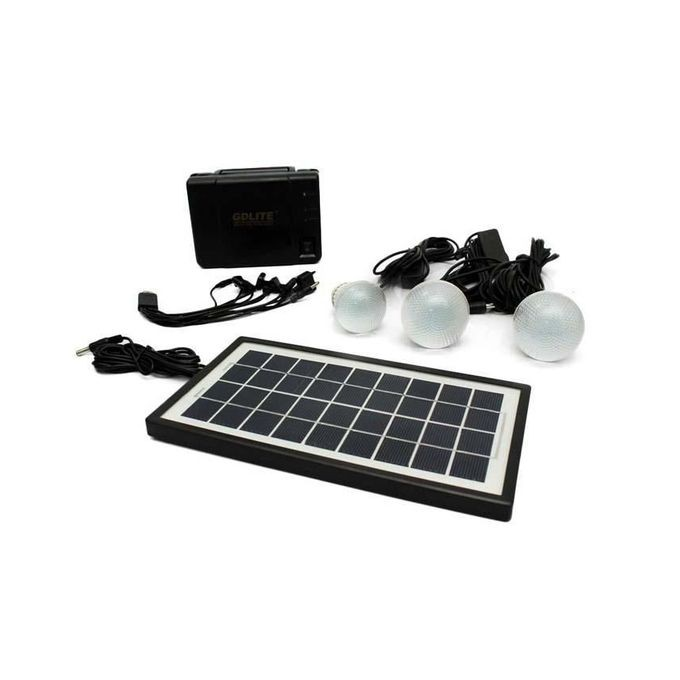 GDLITE GDLITE Solar Lighting System – Black great