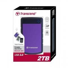 TRANSCEND TRANSCEND 2 TB External Harddisk - Purple great