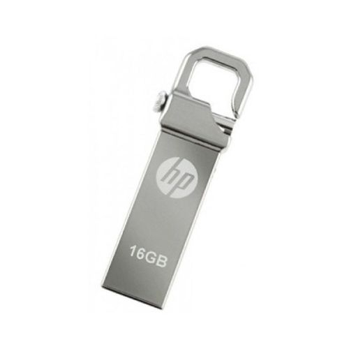 Flash Disk With Clip - 16GB - Silver