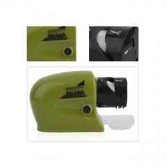 Tool & Knife Electric Sharpener Sharp Cordless For Kitchen Blade/Driver - Green green