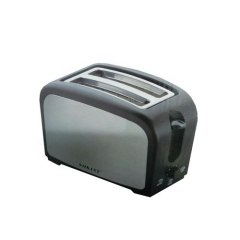 2 Slice Bread Toaster- White And Black