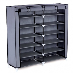 Elegant Portable Shoe Rack grey