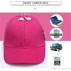 Bluetooth Music Hat Baseball Leisure Cap Outdoor Equipment - Grey