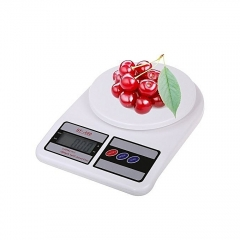 Electronic Kitchen Digital Weighing Scale, Multipurpose, White,10kg white