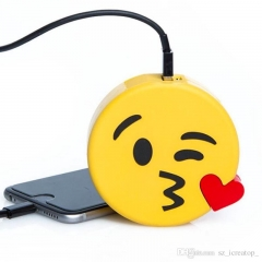 8800 mAh Emoji Powerbank - Yellow yellow 8800 mah