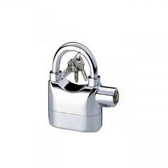 Alarm Security Padlock - Silver silver